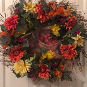 Multiple Colored Wreath